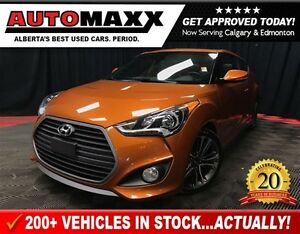 2016 Hyundai Veloster Turbo w/Leather/Sunroof/Nav!