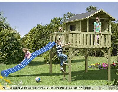 """Kinderhaus """"Maxi"""" Kinderspielhaus Stelzenhaus Gartenhaus Baumhaus Holz Spielhaus"""