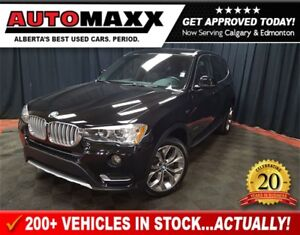 2017 BMW X3 xDrive28i Premium Loaded!