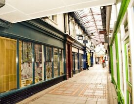 **TO LET** Contemporary, 1-bedroom flat in the historic, Commercial Arcade, Abertillery. £375 PCM.