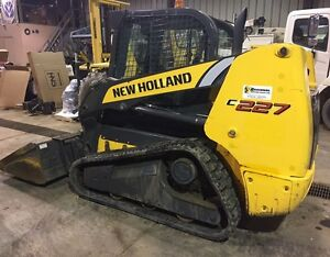 2011 New Holland C227 Compact Track Loader