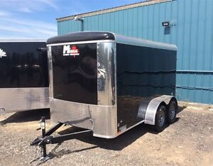 Miska 6'x12' Tandem Axle Enclosed Trailer