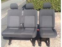 VW T5 2+1 Tassamo rear Kombi seats