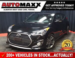 2016 Hyundai Veloster Turbo w/Leather/Nav/Sunroof!