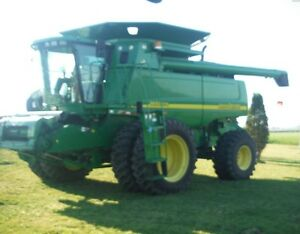 2002 John Deere 9650 STS Combine Kitchener / Waterloo Kitchener Area image 2
