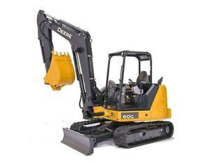 2018 John Deere 60G Excavator