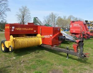 New Holland 570 Square Baler - Small