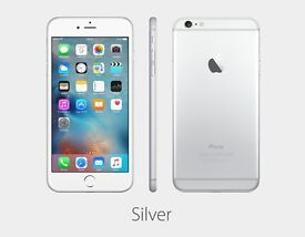iPhone 6s plus cosmetic condition silver 2 months young