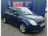 2007 (57 reg) Suzuki Swift 1.5 GLX 5dr Hatchback, AA COVER & AU WARRANTY INCLUDED, £1,495 ono