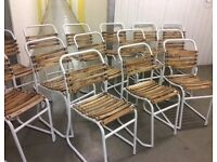 Retro Style, Stacking Chairs, New & Unused.