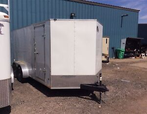 Miska Titan STET 7'x16' Enclosed Trailer