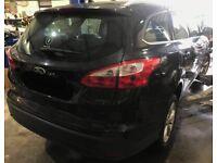 Breaking door seal 2013 Ford Focus Zetec 1.6 Black 5dr Panther Black FB bumper front rear os ns