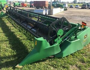 2002 John Deere 930F Flex Head
