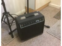 Music stand and mic stand ..new