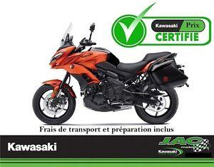 2016 Kawasaki Versys 650 ABS LT Touring 37,46$*/sem **Defiez nos