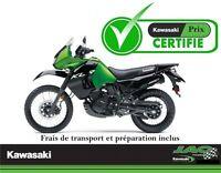 2015 Kawasaki KLR650 31.41$*/sem**Transport Prep Inclus