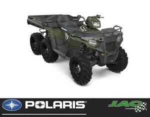 2017 polaris Sportsman Big Boss 6x6 570 EPS 37.15$*/sem** En sto