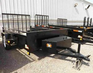 6'x12' Utility Trailer - Contractor Model