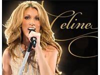 Celine Dion floor seats