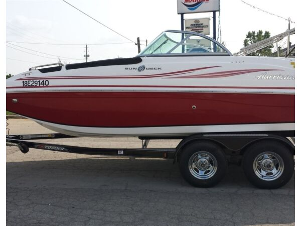 Used 2015 Nautique HURRICANE 187 DECK BOAT