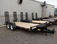 """Miska """"Bobcat"""" HD Low-Bed Float Trailers – Proudly Canadian Made"""