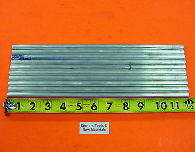 10 Pieces 38 Aluminum 6061 T6511 Round Rod 12 Long Solid Lathe Bar Stock New