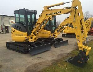 2016 New Holland E30B Mini Excavator