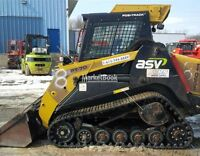 2009 ASV PT-70 Compact Track Loader with Cab