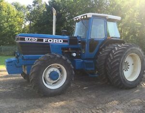 1992 Ford 8730 4WD Tractor