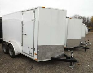 Miska 7' Wide Enclosed Trailers