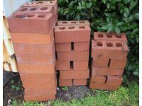 25 new/old stock Accrington Facing Bricks