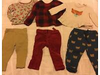 Baby Girls Clothes, 9-12 months, Baby Gap, John Lewis, Next & Mothercare