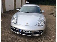 Porsche Cayman S, FSH, Cheap tax, Great colour combination, recent new clutch