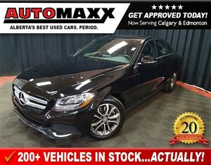 2016 Mercedes-Benz C-Class 300 4Matic! Loaded!!