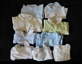 Bundle of new born clothes