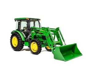 2018 John Deere 5075E Utility Tractor