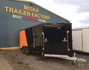 Wide Range of Snowmobile Trailers by Miska Trailer