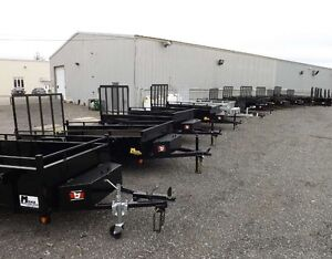 Tilting Utility Trailers ? Now in Stock at Miska