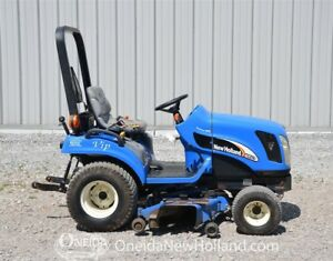 New Holland TZ25DA Tractor