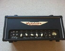 Mint condition Ashdown all valve CTM100 Bass amp