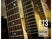Learn Guitar Online with Local Hull Guitar Teacher