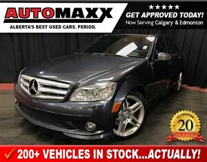 2010 Mercedes-Benz C-Class C350 4MATIC w/Nav/Leather/Roof!
