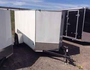 Miska Titan STET 5'x10' Enclosed Trailer