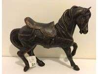 Horse ornament- Antique bronze colour