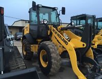 2016 New Holland W80C Compact Loader
