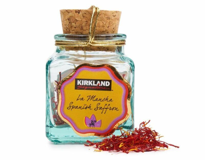 NEW! Kirkland Signature La Mancha Spanish Saffron Select 1 gm (.035 oz) up to 5