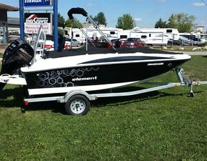 2014 BAYLINER 16 ft ELEMENT 32 hrs