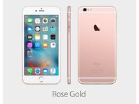 New condition Apple iPhone 6S 64GB Rose Gold Boxed Unlocked