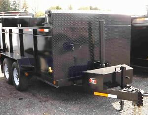 "Miska Roofer's Package"" Loaded Dump Trailer"""