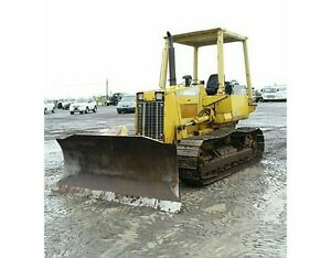 Komatsu D37E Dozer at Auction